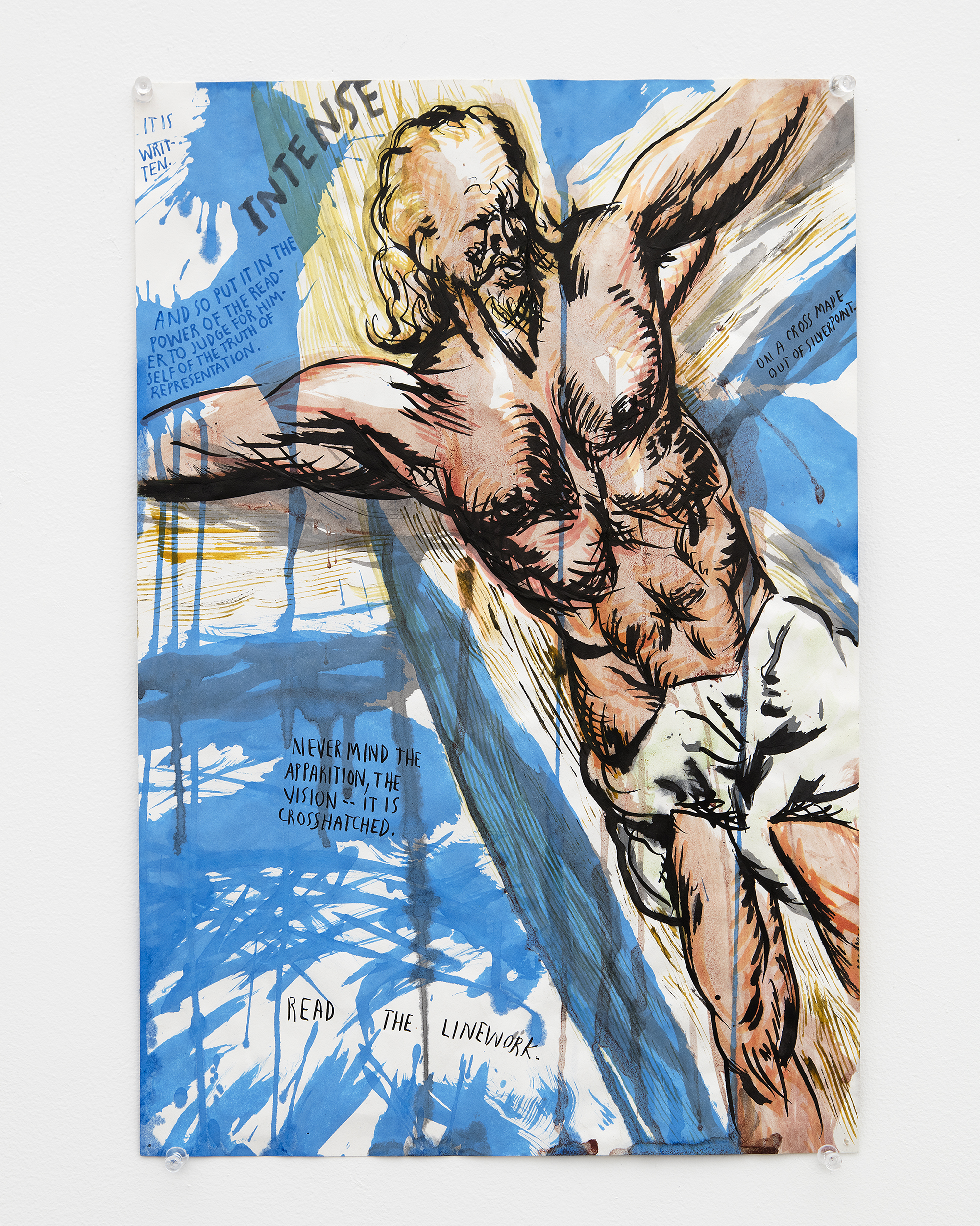 Raymond Pettibon (David Zwirner Gallery)