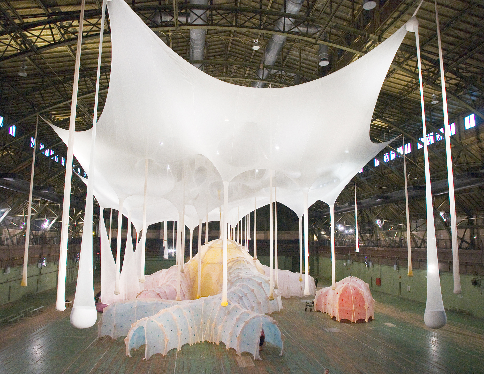 Ernesto Neto at the Park Avenue Armory, NYC