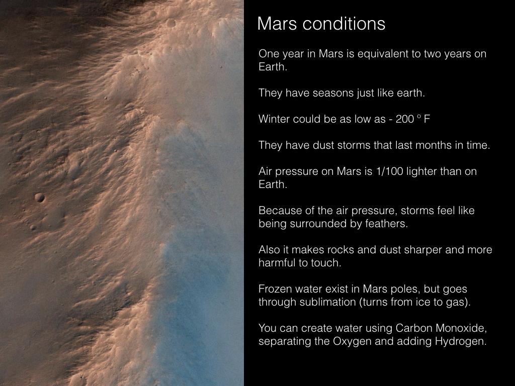 Image of Mars by NASA.