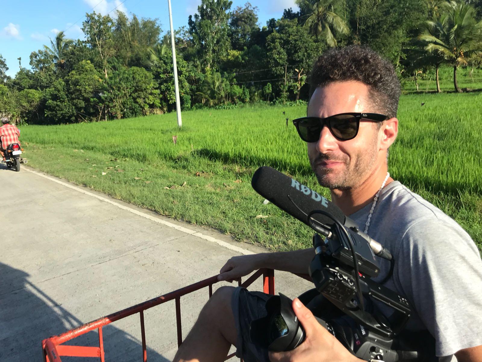 Nick O'Meally, Philippines, Fresh Start Media, for the Global Teacher Awards