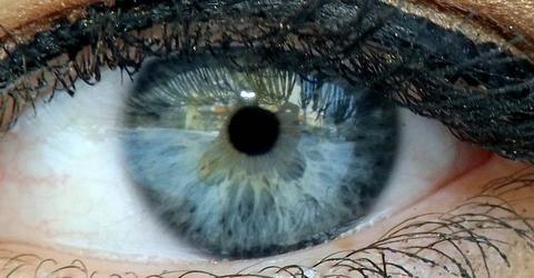 Pic - Human eye Iris closed