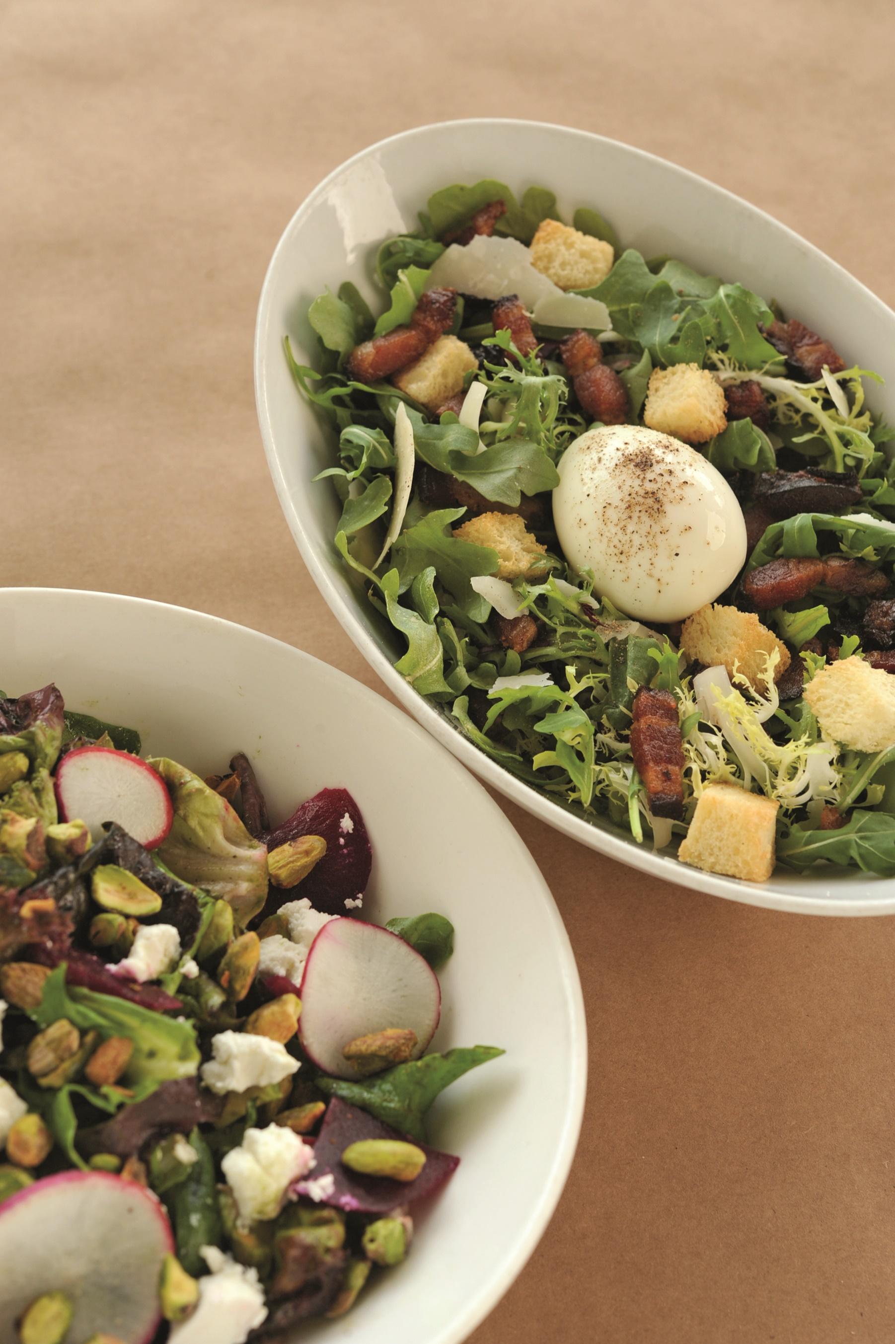 The Ravenous Pig - Farmer and Gatherer Salads