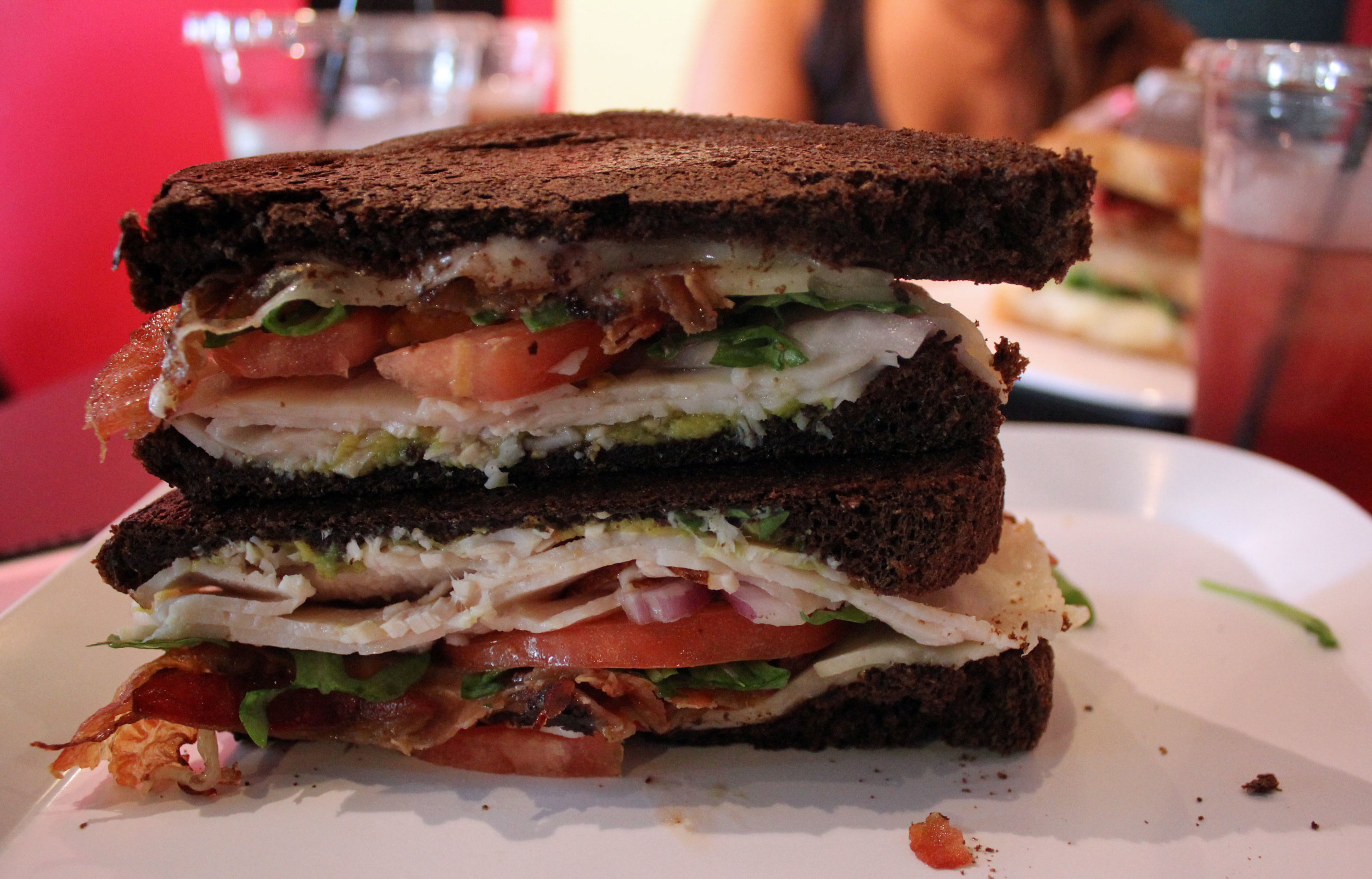 Pom Poms Sandwich