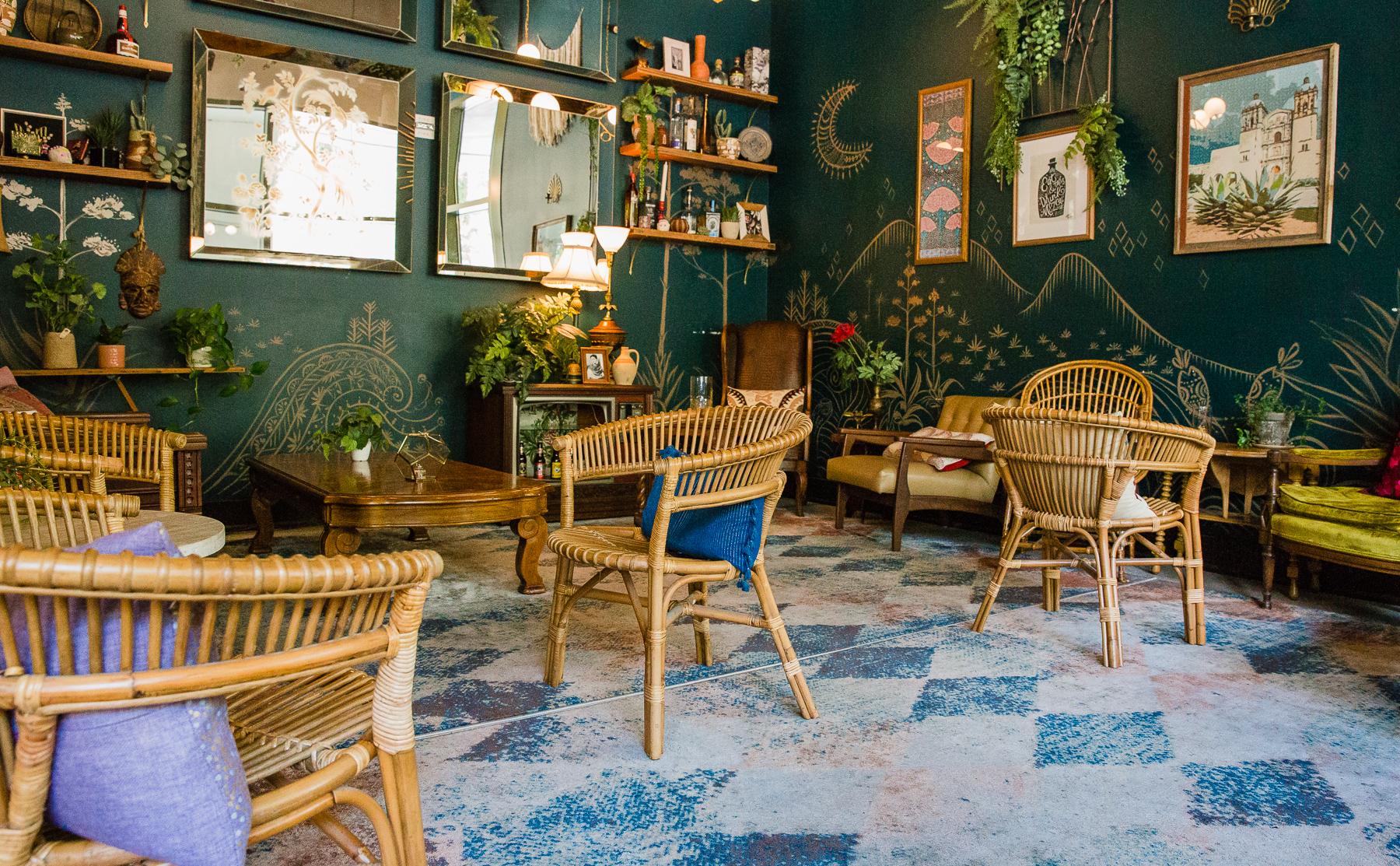 Reyes Mezcaleria sitting room