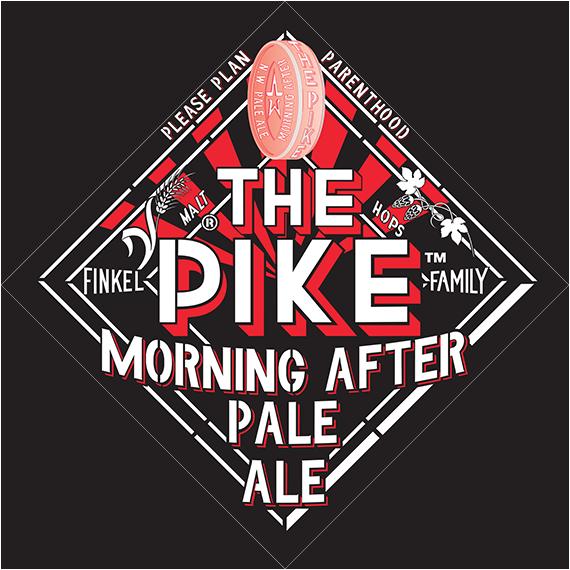 Pike Brewery Pale Ale Logo