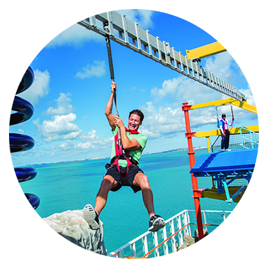 Sports Complex - Zipline, Ropes Course, Mini-Golf & more!
