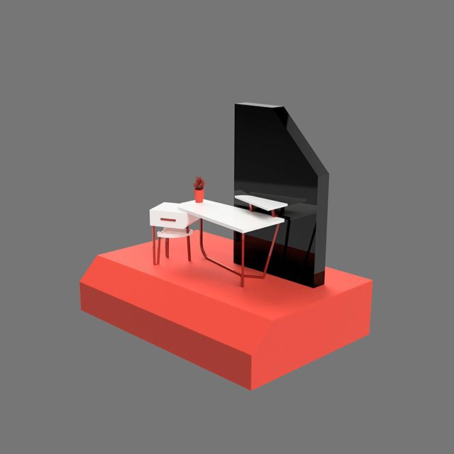 Table design inspired by Calligaris Layers Table