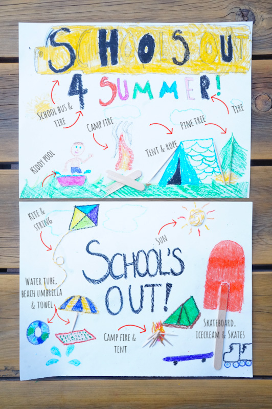 School's Out 3D Craft