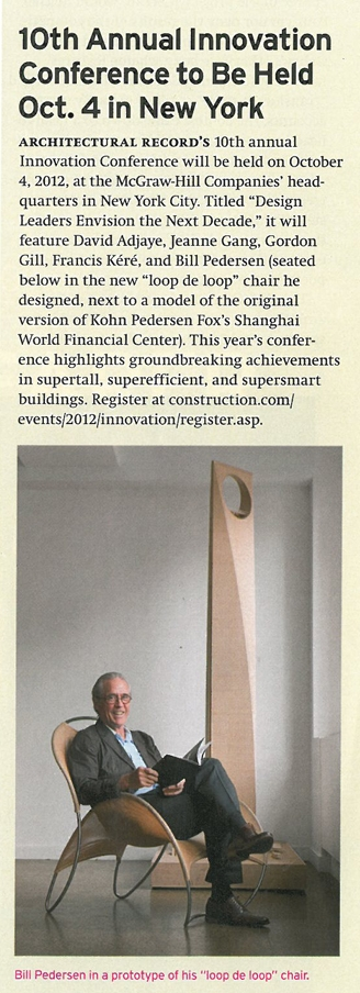 Architectural Record September 2012