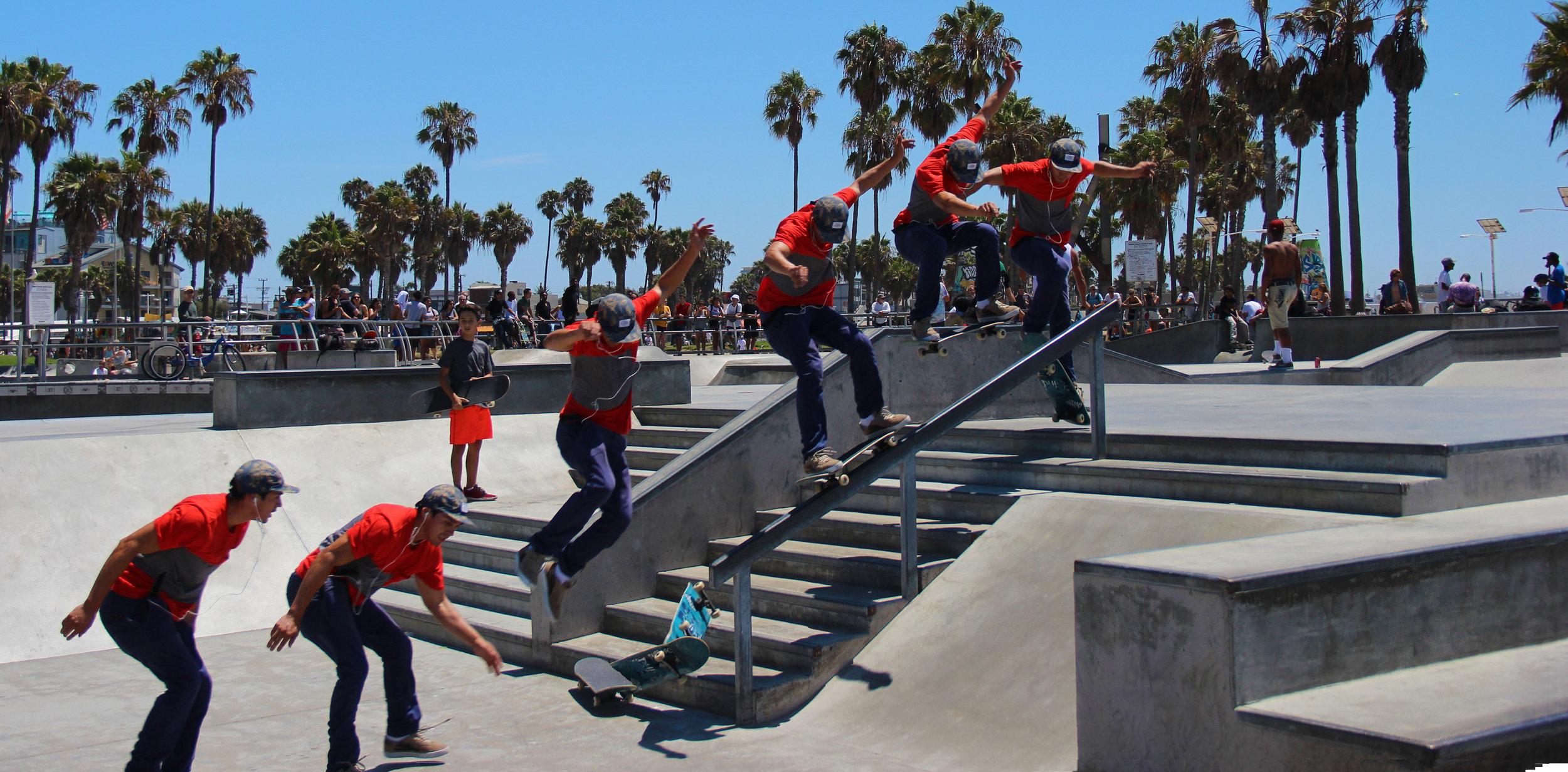 Venice Beach Skate Park, August 14, 2015