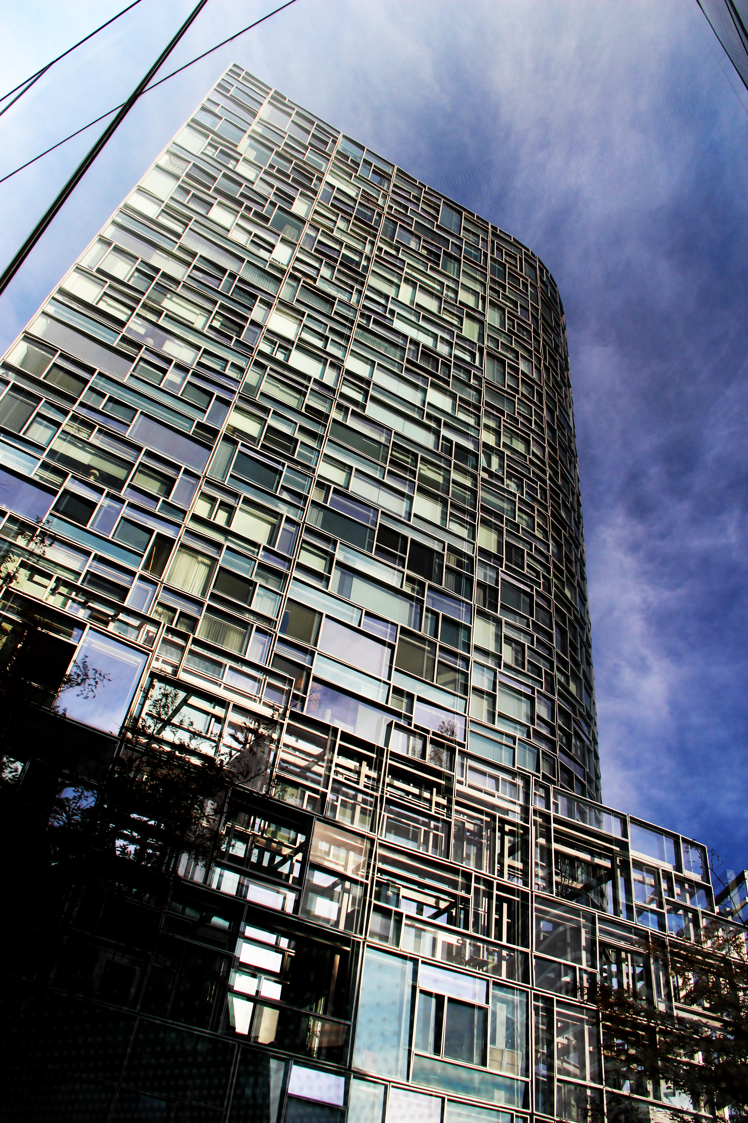 Frank Ghery & Jean Nouvel Buildings, Chelsea, Manhattan, November 9, 2014