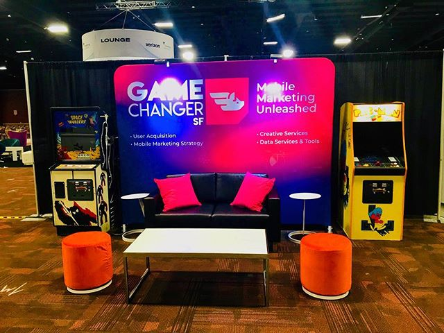 Come see us at Mobile Apps Unlocked at booth 626. Let's see those classic gaming skills!