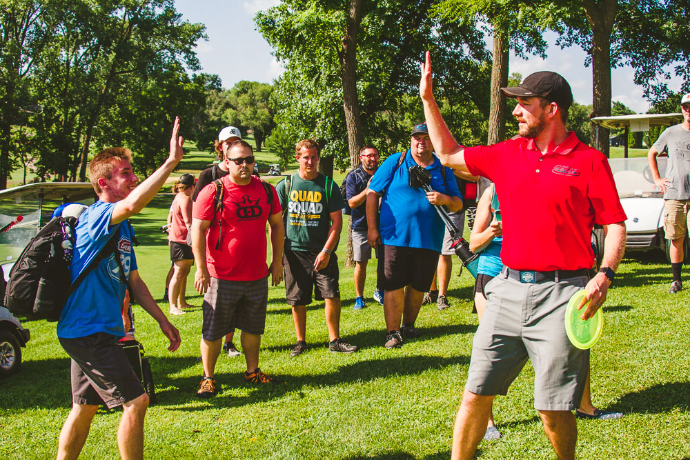 ledgestone play with the champs and player's clinic -