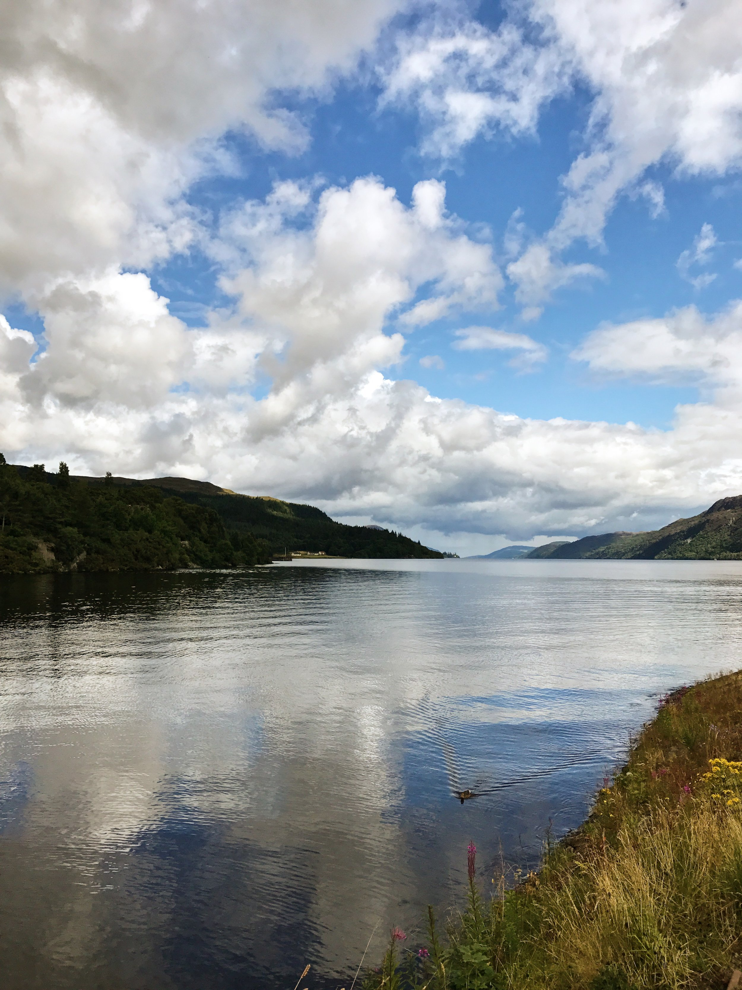 Loch Ness. Do you see The Monster?!