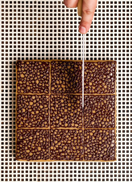Brownie Wears Lace. In his new cookbook, Cenk revamps the fudgy brownies he designed for Dolce & Gabbana.