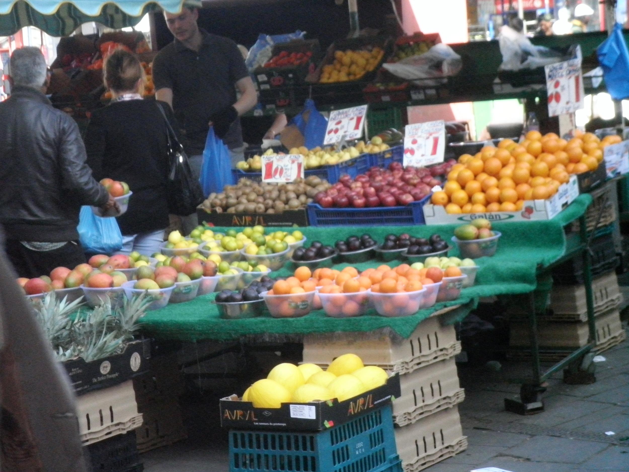 Lewisham Vegetable Market