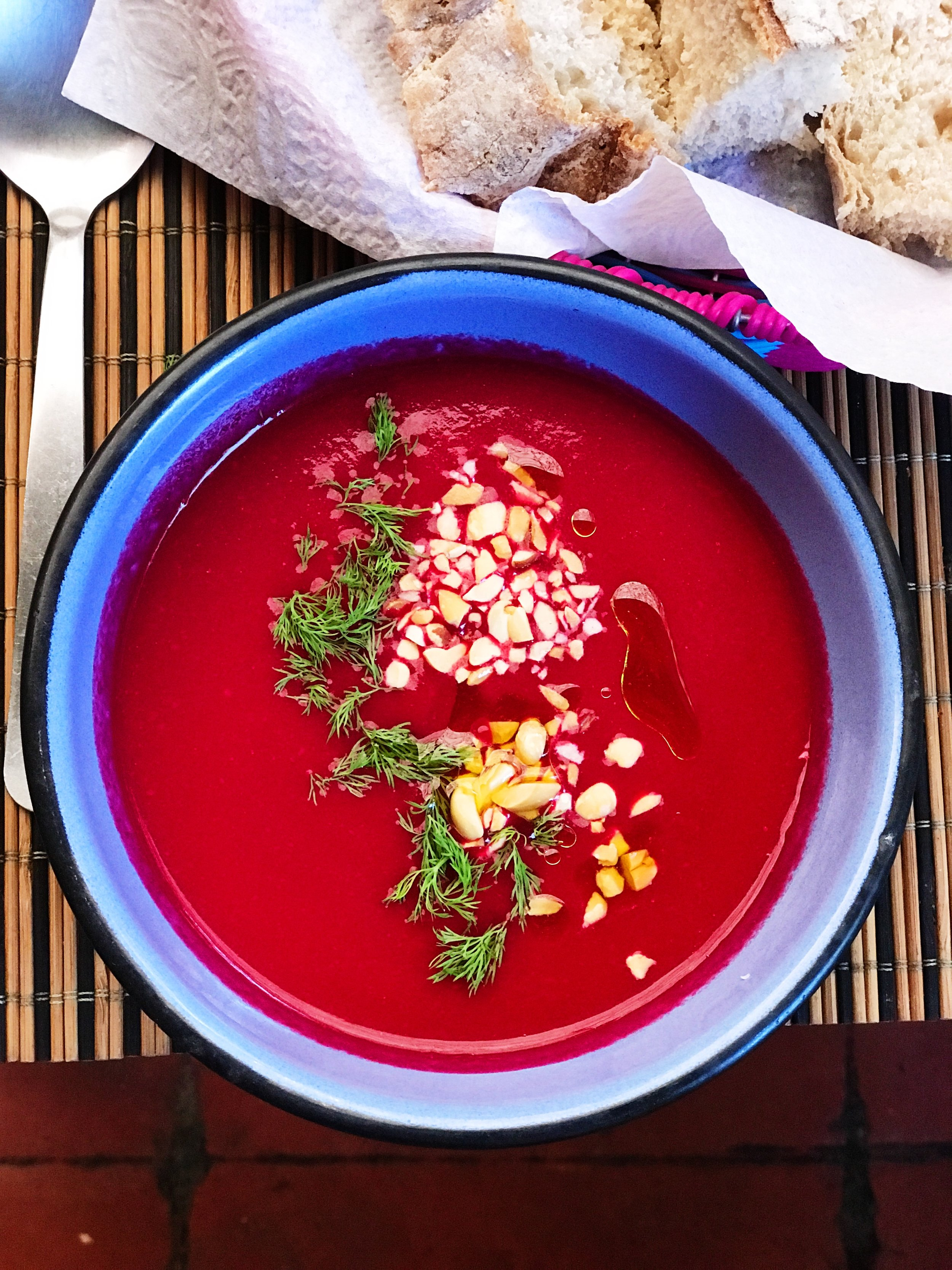 Soup of the day at Calabacitas Tiernas.