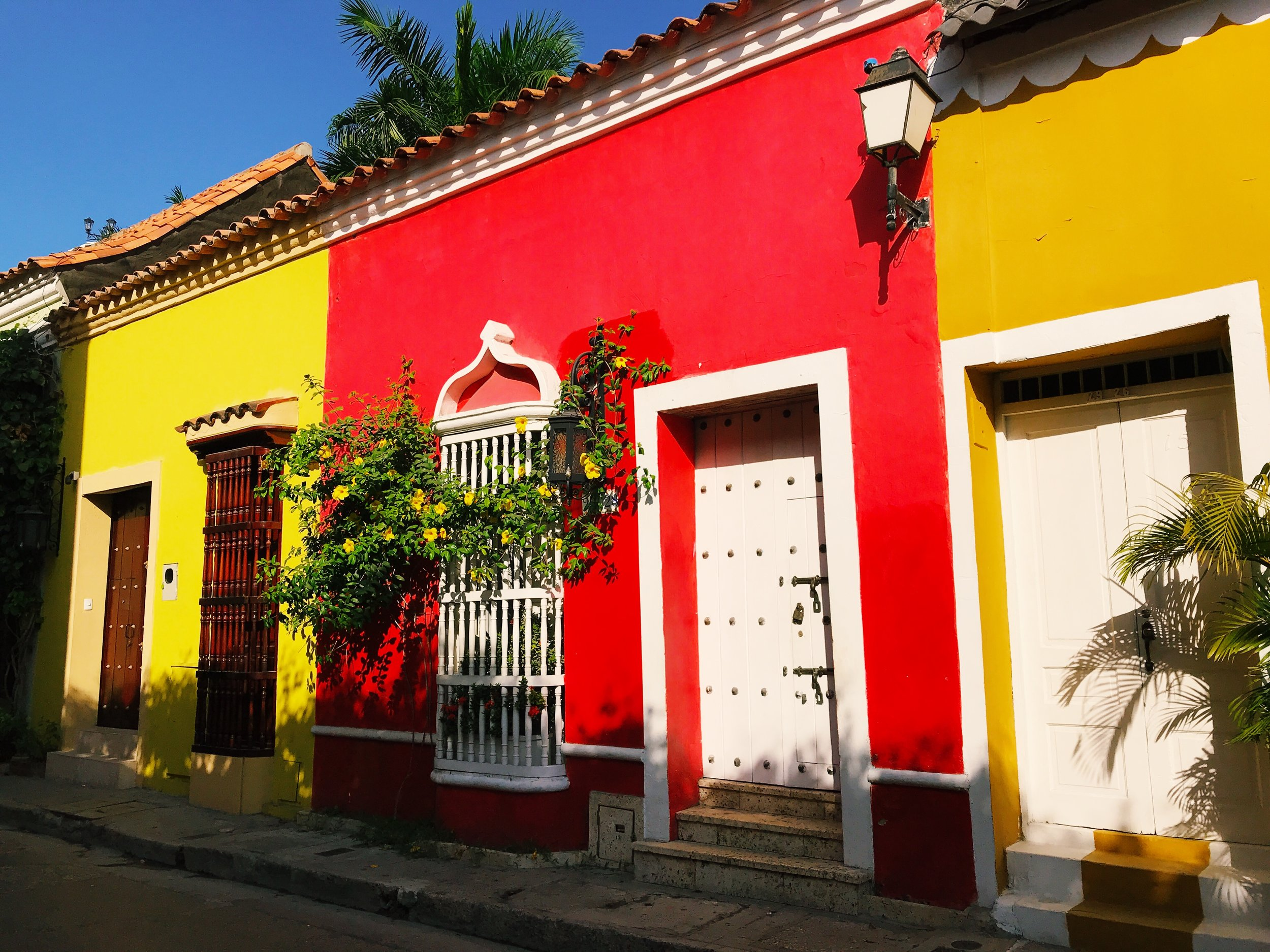 Never want to experience winter again? Go to Cartagena, Colombia.