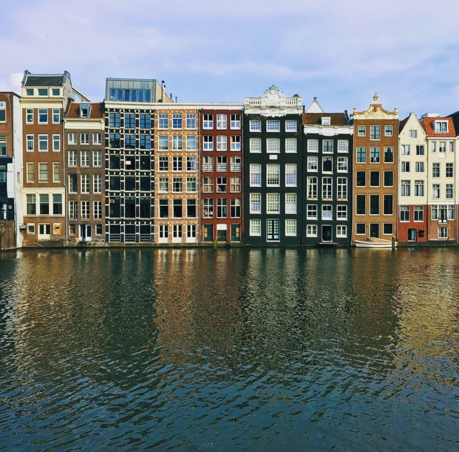 """""""I think something really spectacular and unique to Amsterdam is it's still very much rooted visually in the Golden Ages of its history, which is the 1600s,"""" Audrey says. """"For people coming from countries like the U.S., that's a pretty brilliant thing to see."""""""