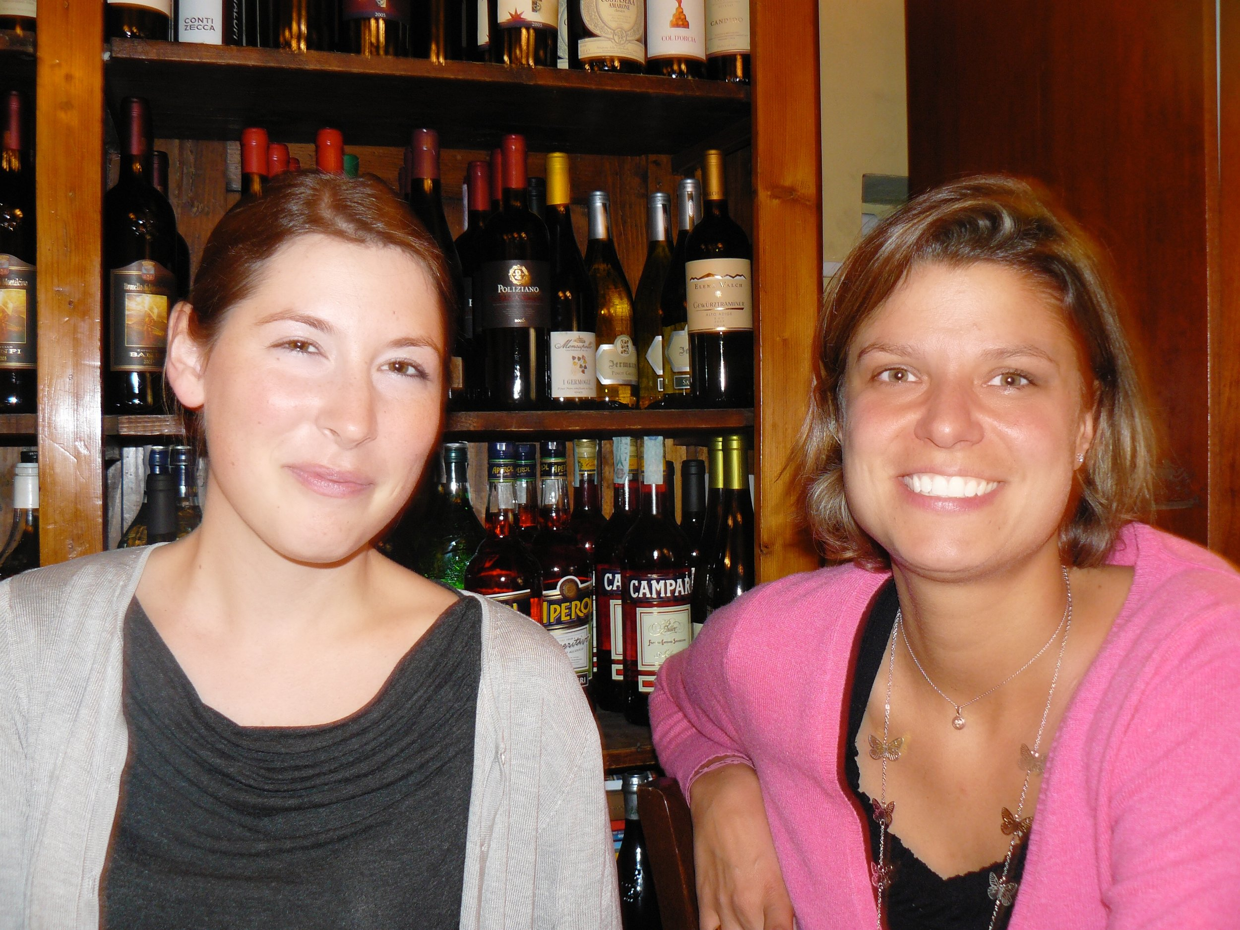 Italian conversation practice at a bar because, where else?