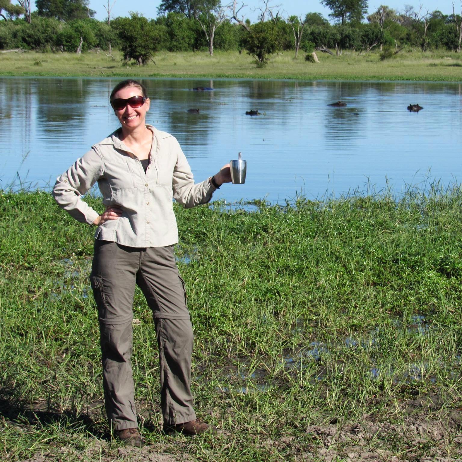 LoAnn traveling through Botswana. Photo courtesy of her.