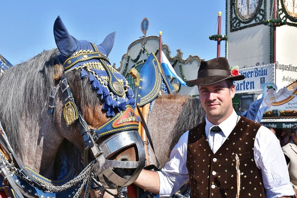 There's something for everyone at Oktoberfest, even sparkling wine, macaroni and cheese, and handsome men in hats.