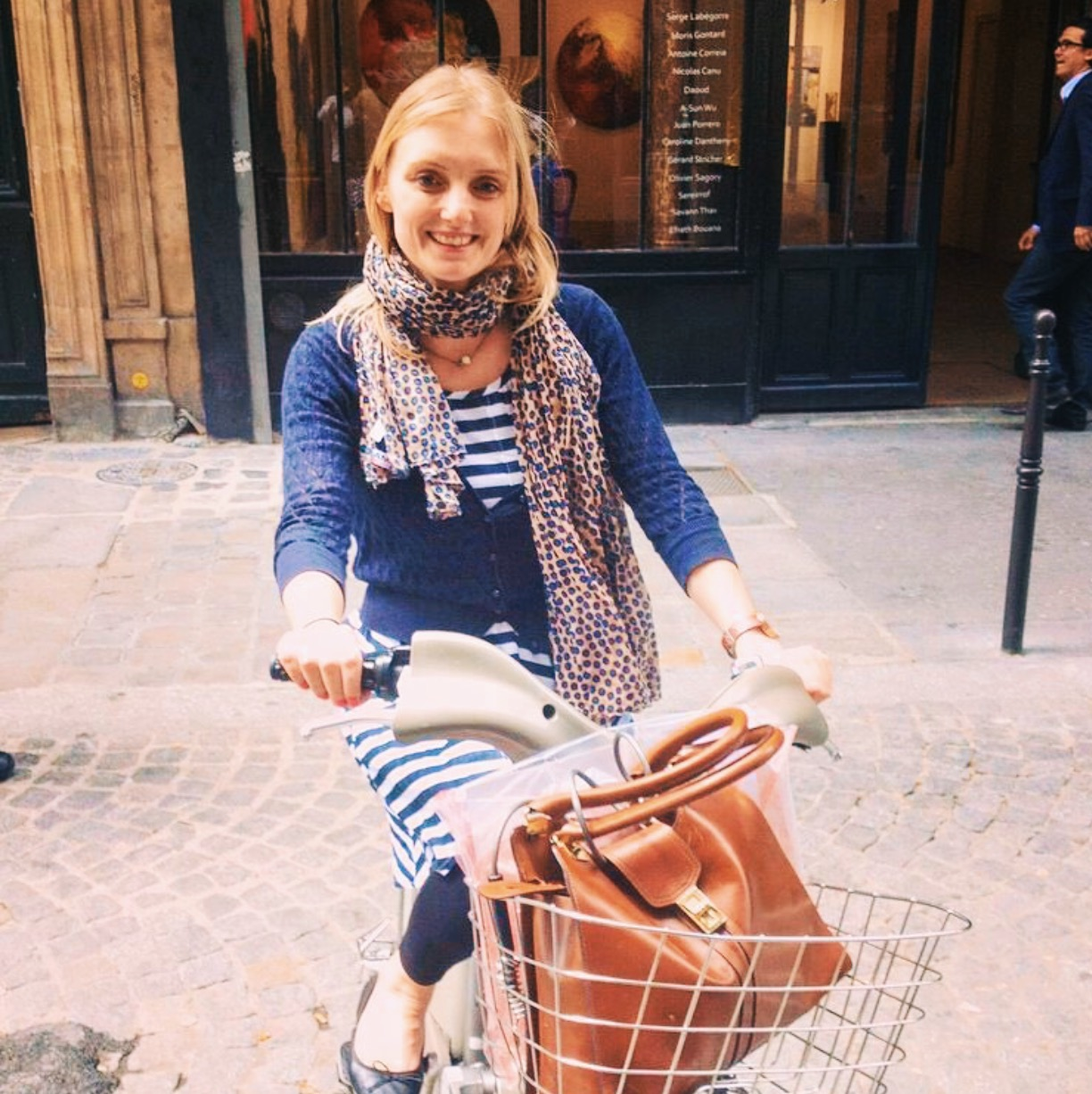 Gemma solo traveling on a cheeky day trip to Paris from London.  Photos  featured here are courtesy of her.