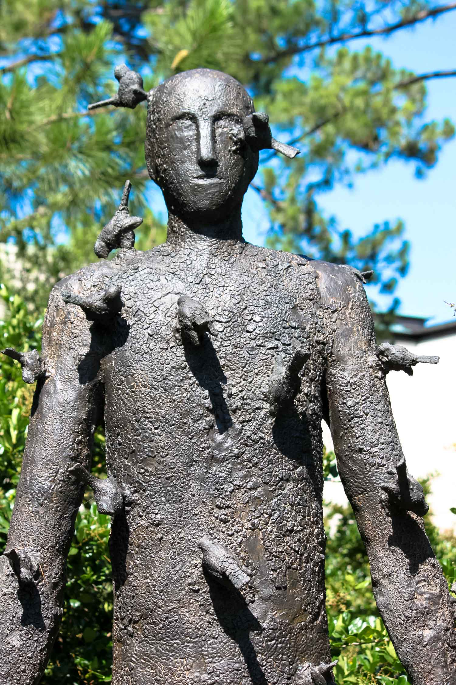 Sculpture garden at the New Orleans Museums of Art.  Photo by Cristal Dyer .