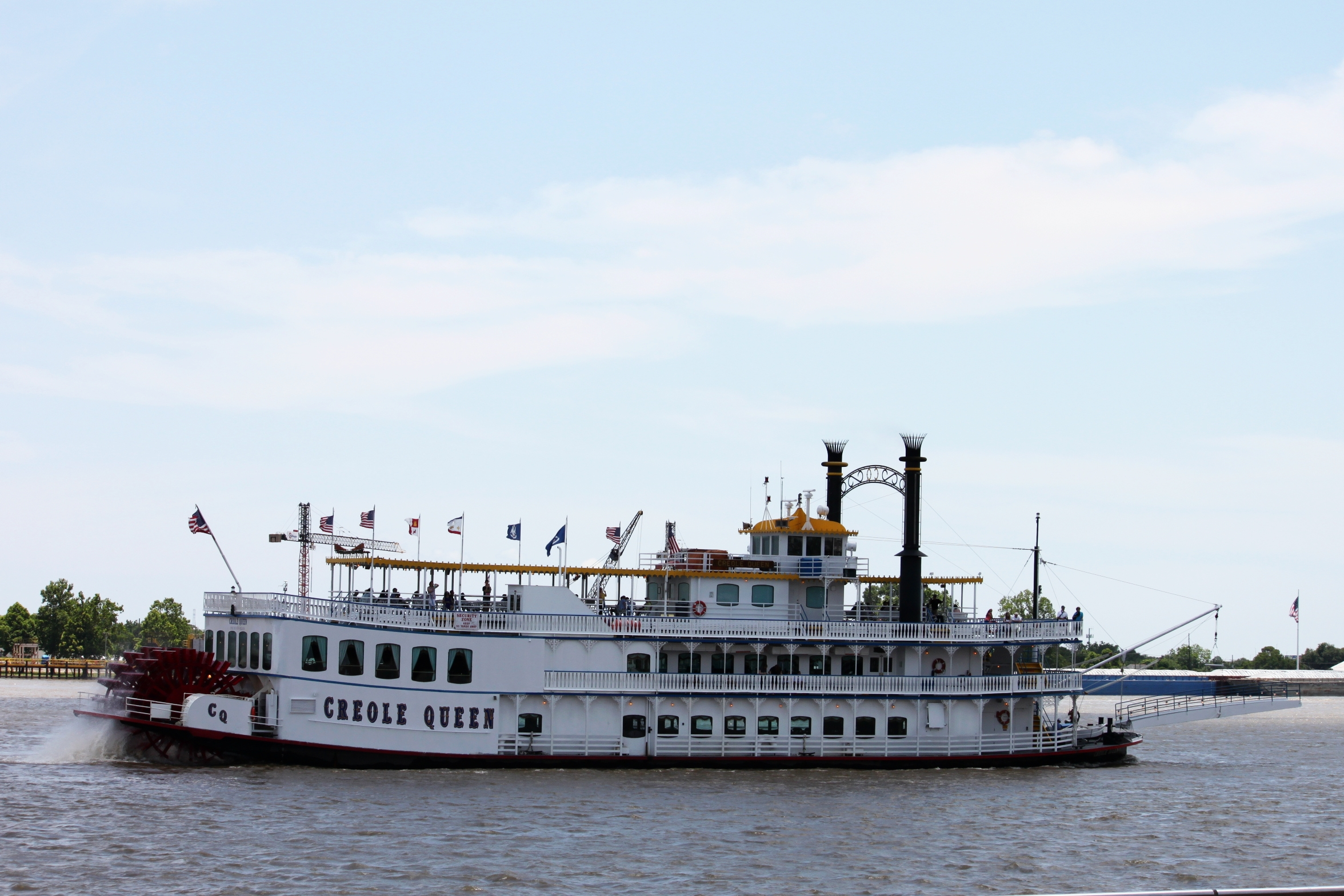 """New Orleans is nicknamed the Crescent City because """"the Mississippi River curves into this cool crescent shape right where New Orleans is located,"""" Hope says.  Photo by Cristal Dyer ."""