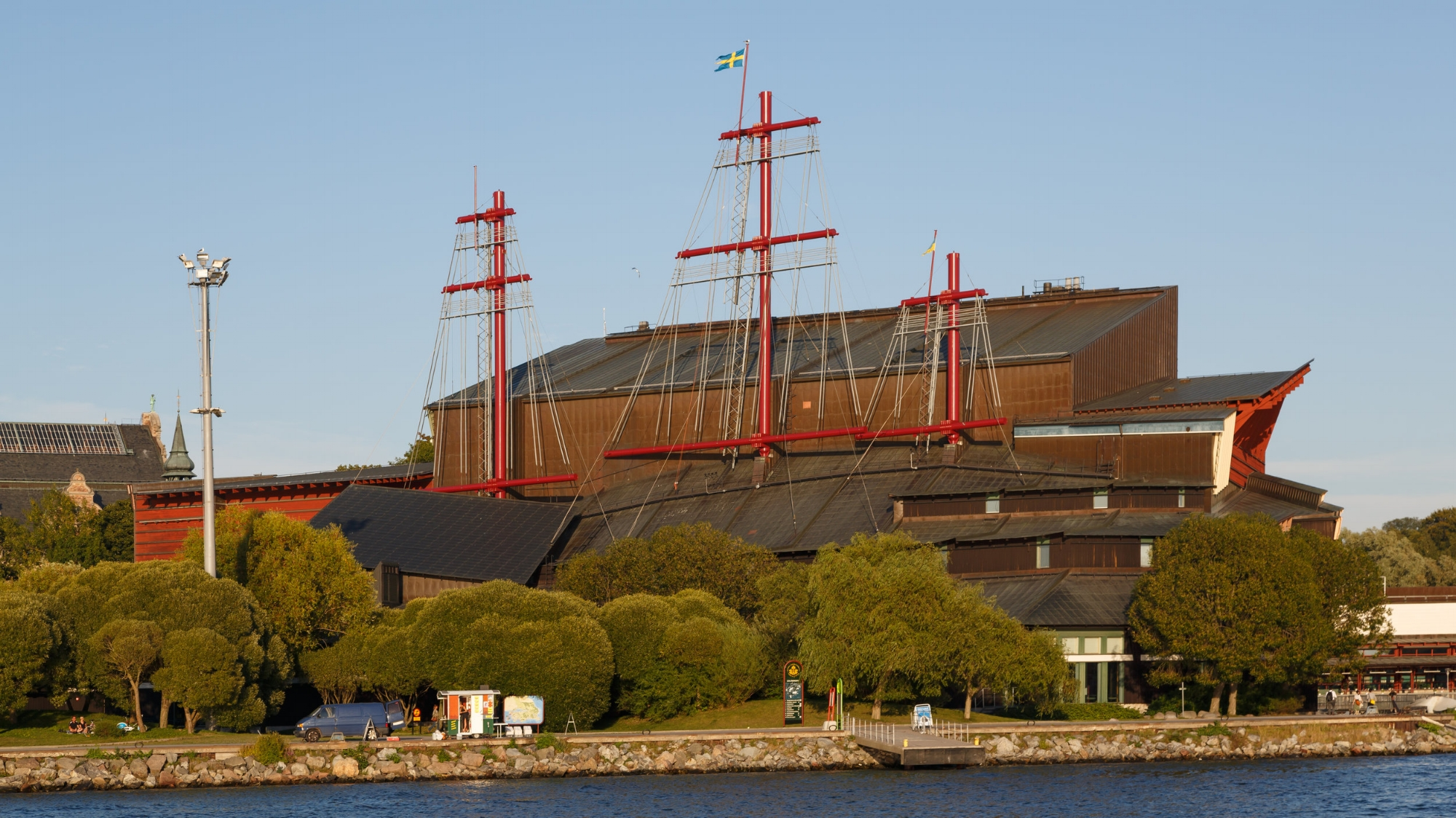 Vasa Museum. This warship sunk soon after it set sail in the 1600s. The upside for us is we can now explore this mostly intact ship.