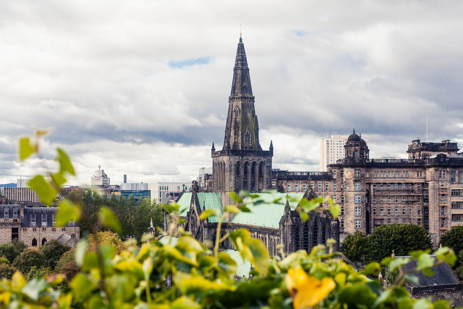 Glasgow Cathedral. All photos in this post are courtesy of Kathi Kamleitner, who writes about her love of Scotland at  Watch Me See .