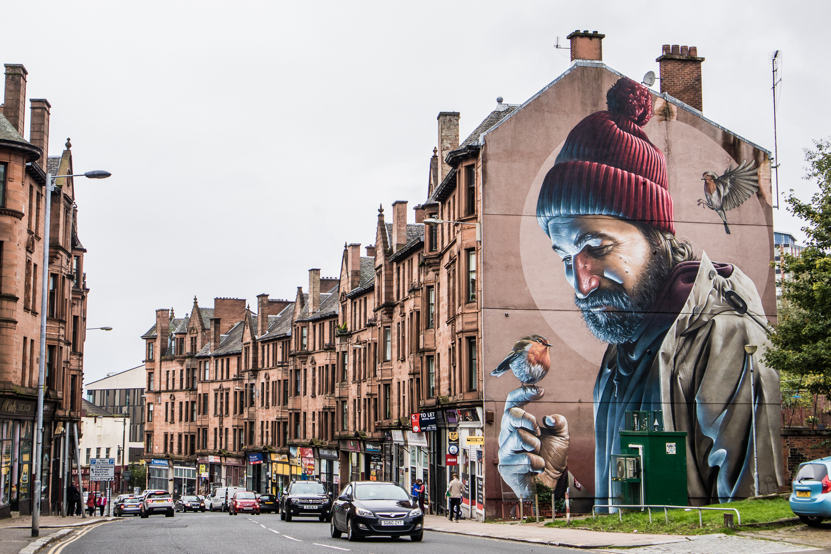 Discover gorgeous street art throughout Glasgow. The city council even offers a handy map.
