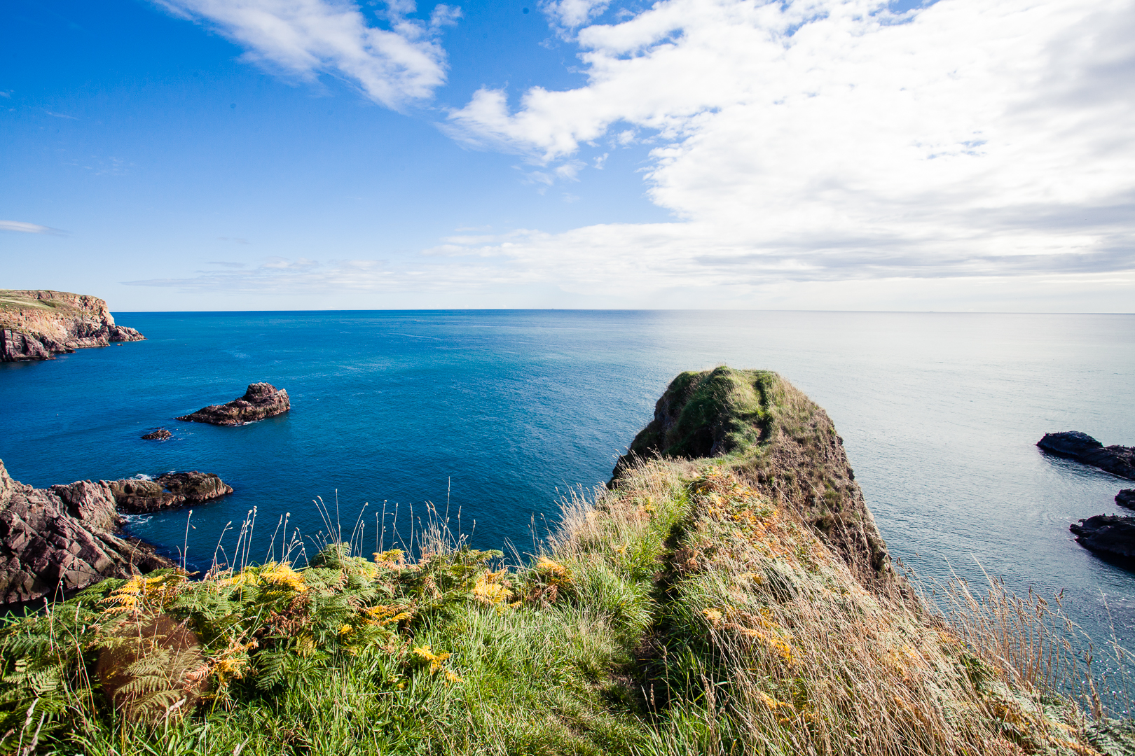 Bullers of Buchan in Aberdeenshire, North East Scotland.