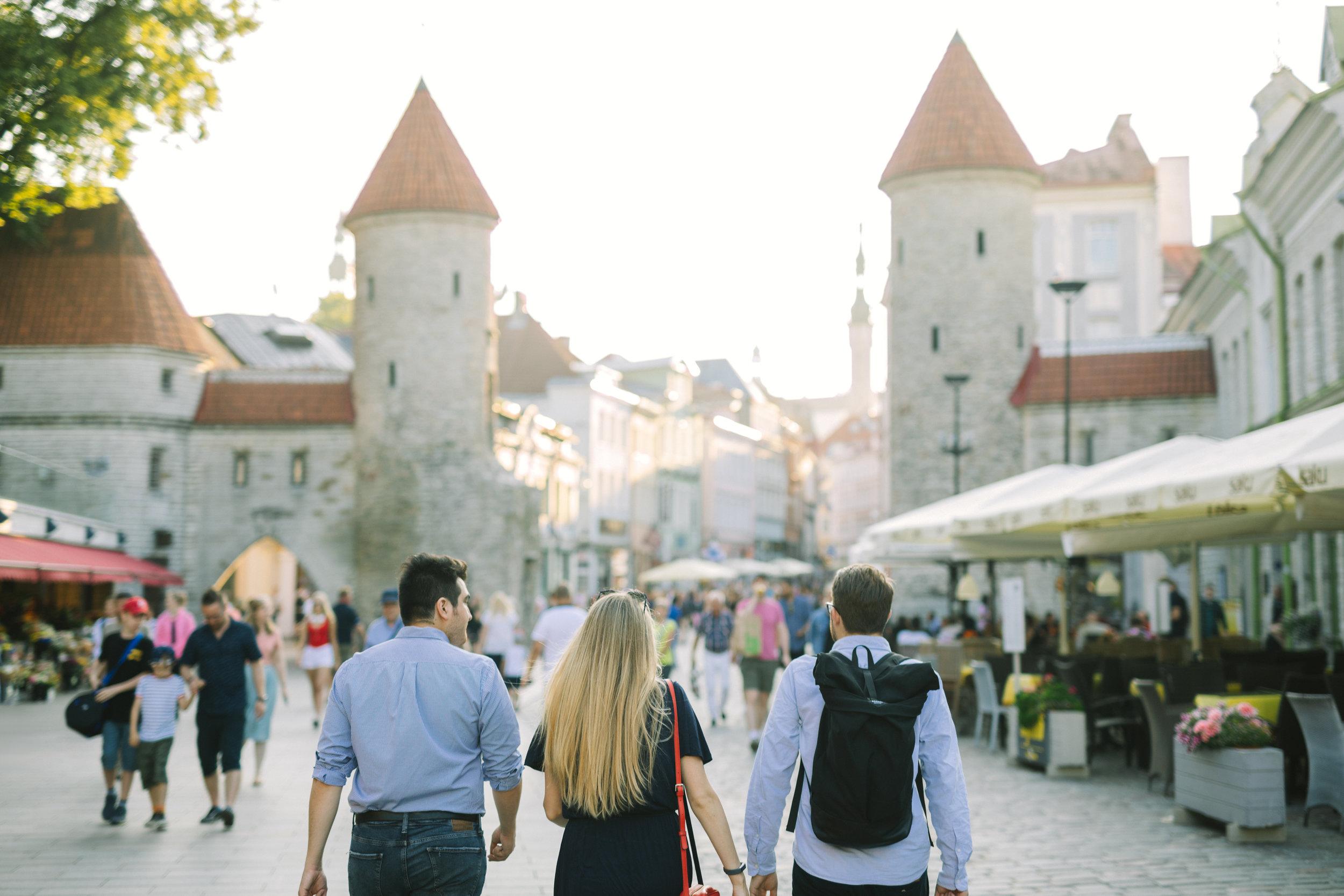 Tallinn, Estonia has the best preserved medieval old town in Europe. Photo by Rasmus Jurkatam.