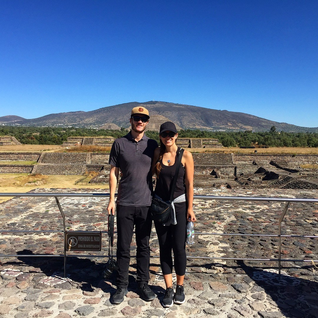"""""""Teotihuacan, or City of the Gods, is an impressive set of ancient ruins located about 40kms outside of Mexico City. It's best known for its two big pyramids: The Pyramid of the Sun and the The Pyramid of the Moon."""""""