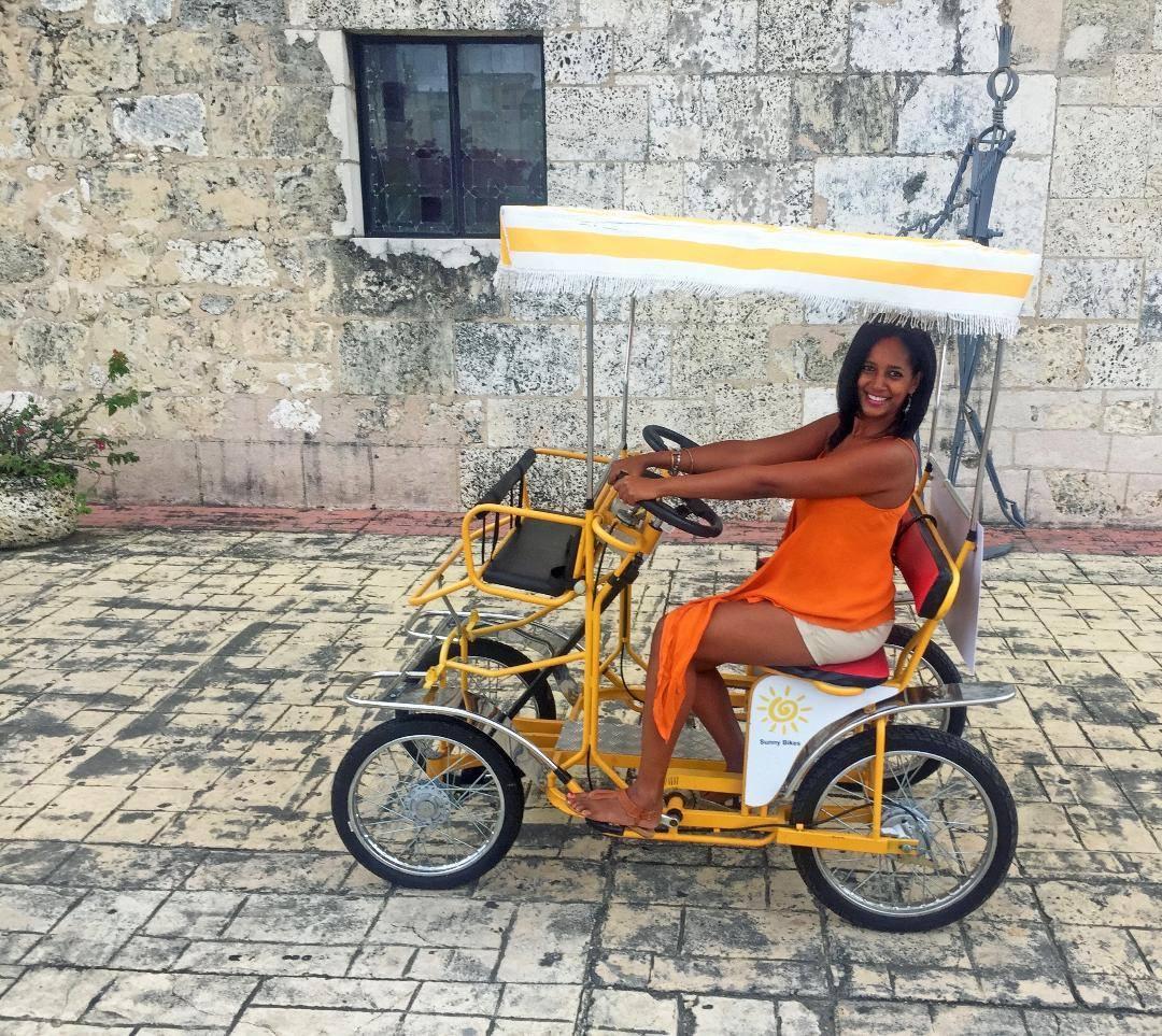An Uber alternative: the Sunny Bike.