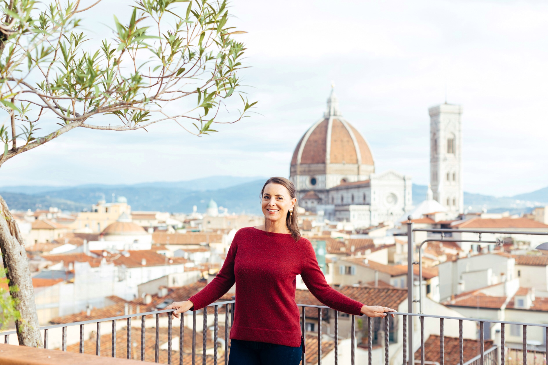 Nardia getting Lost in Florence. Photo credit Sofie Delauw.