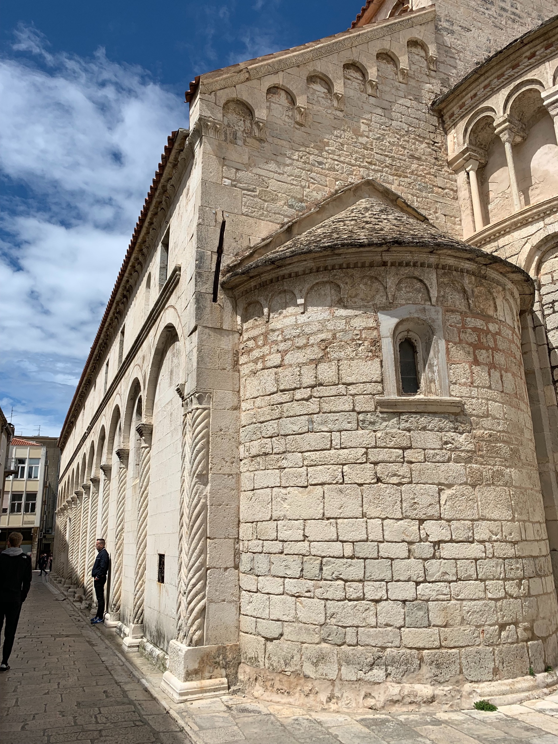 While waiting for Cristal in Sibenik, I took the bus to  Zadar for a day trip .