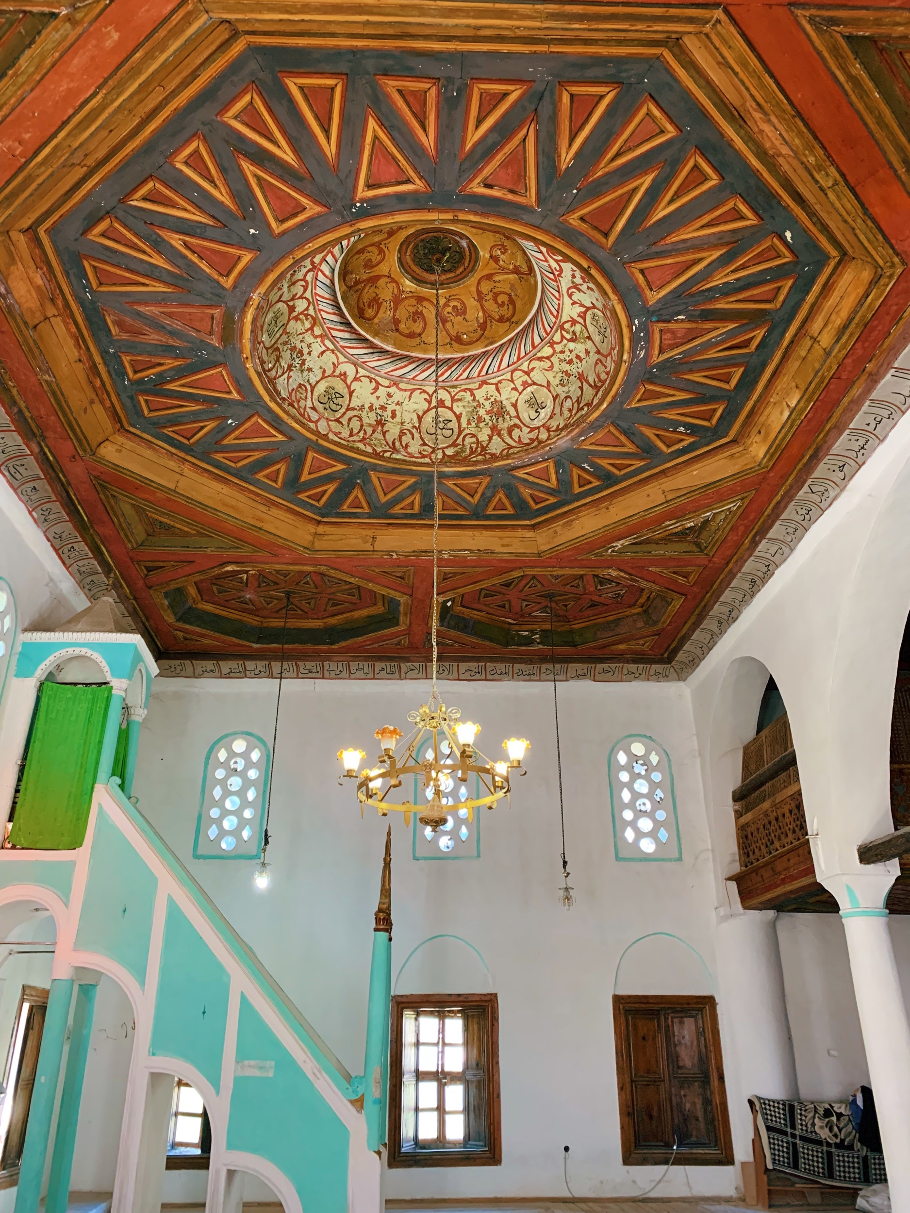 The King Mosque dates back to 1490 and is the oldest still-working mosque in Albania.