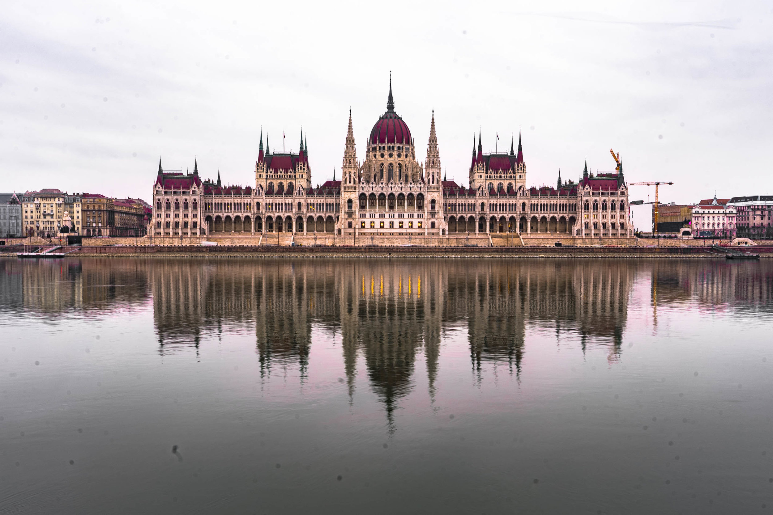Hungarian parliament. All photos here courtesy of Willie Gevertz.