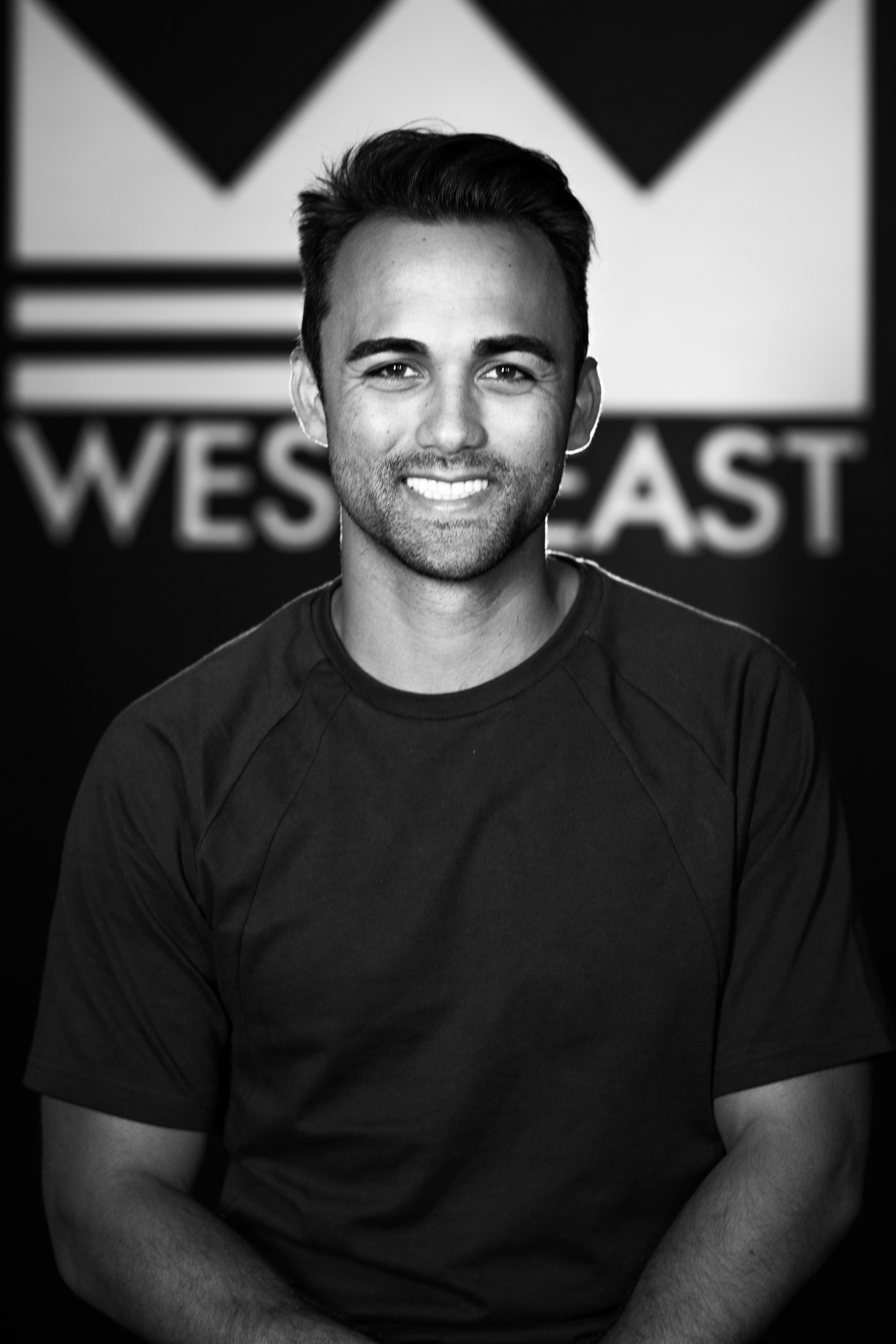 Creative Director & Head of Production for West2East.  Daniel has had a camera in his hand since he was 10 years old and has loved telling stories through his lens ever since.  Before he was with West2East, he spent 3 years working for NBC Sports covering the 2016 Olympics, Super Bowl XLIX, 2016 Stanley Cup Finals, and won 4 Emmys as an associate producer on Sunday Night Football.  What's most important to Daniel are the 3 F's, Faith, Family and Football (and sometimes food).