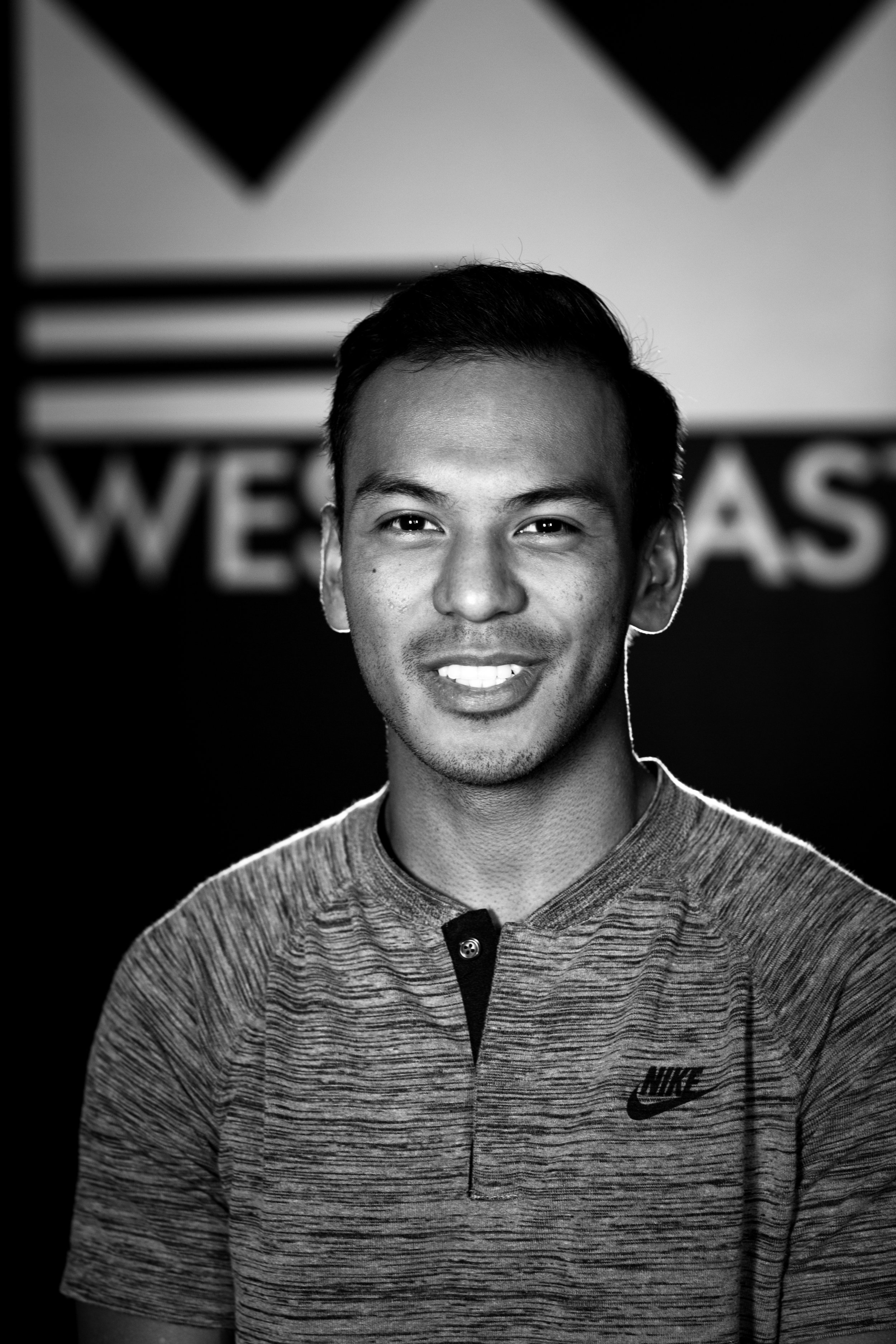 """Los Angeles native, Adam joined the team as West2East Empire's Photographer and Media Assistant.  He spent the 2016 NFL season as social media Producer/Editor for the NBC Sports Sunday Night Football bus and was voted Ai Orange County's """"Best in Show"""" in the Fall 2014 Graduate Portfolio Show.  He's constantly finding ways to inspire others through the creative process, and is a fan and expert of all aspects media - photo, video, and design."""