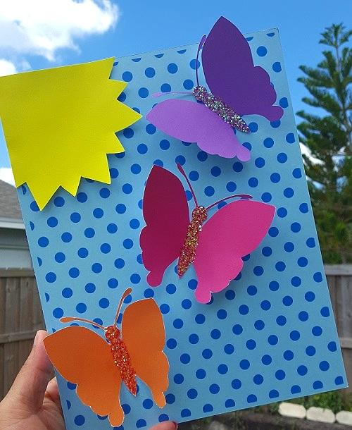 Butterfly 3D Art! -