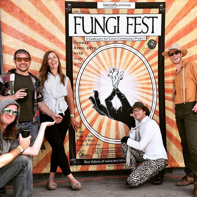 Thank you so much for turning out in force at Fungi Fest to support @cerescommunityproject and celebrate our amazing community. Keep the good vibes going: which vendors did you enjoy? 🍄❤ #mycopiamushrooms #fungifest #sonomacounty #northbay #winecountry #sebastopol