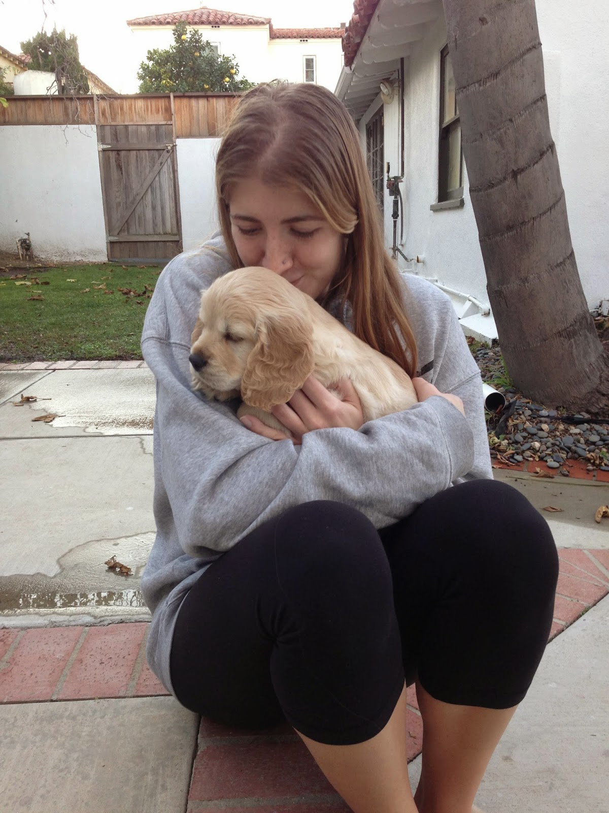 Duke was renamed Kona by his new owner, Mallory!