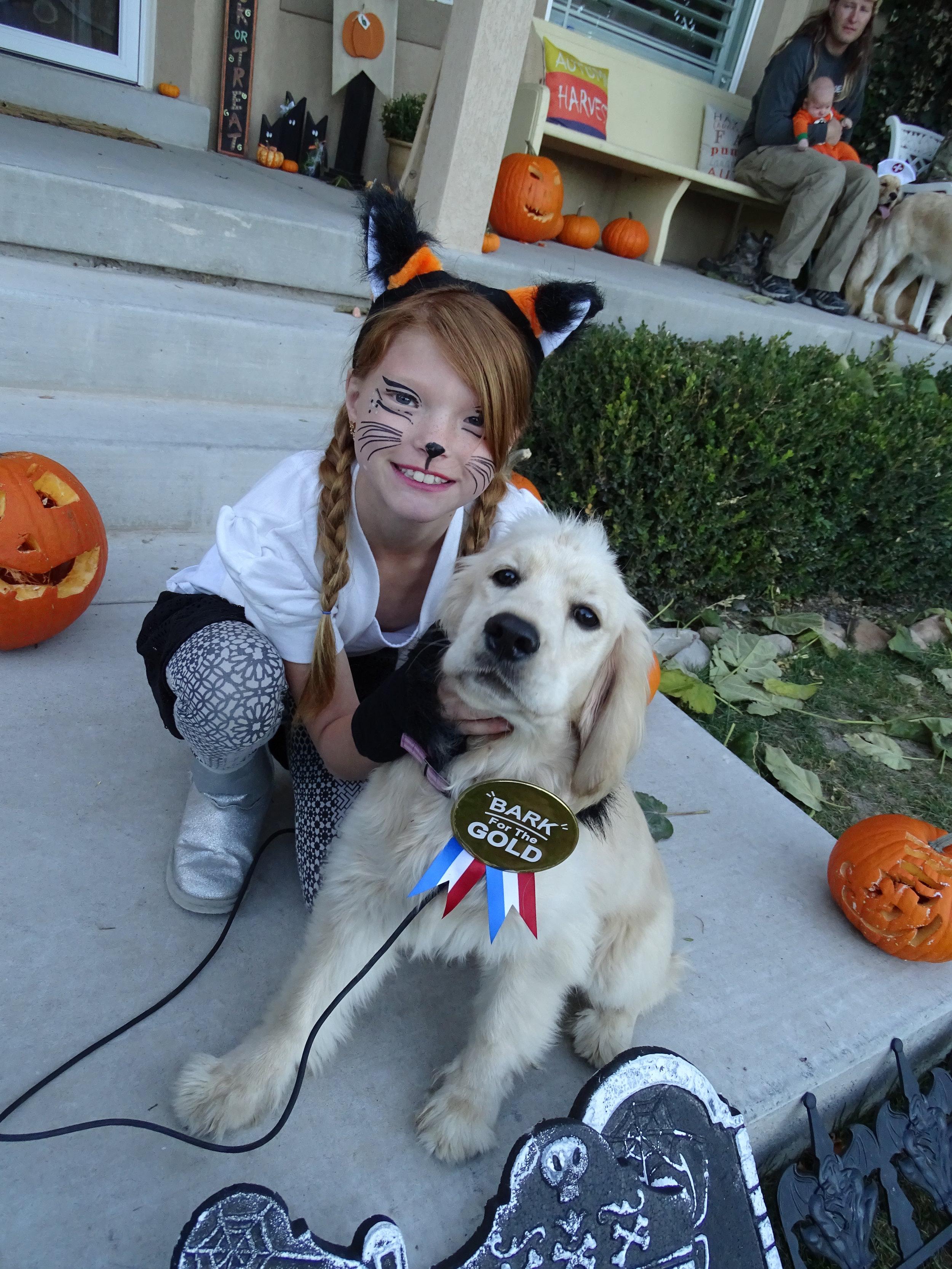 Star's first Halloween