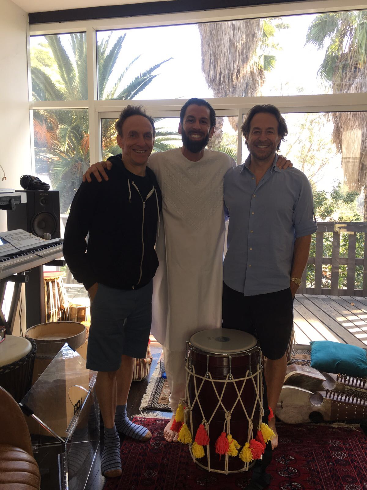 "At home with ""Life of Pi"" Academy award winning composer Mychael Danna and Jeff Danna"