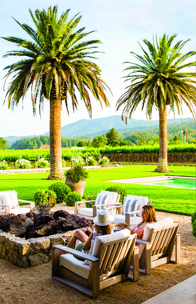 Get the ultimate insider's guide to the golden state - Exterior Lounge: Hillary Thomas