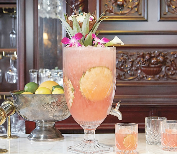 The Standard Punch at Yvonne's. (photo via  In The Mix )