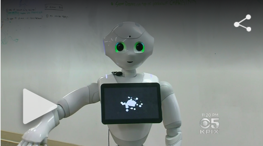 Generation Of Social Robots Being Created In The Bay Area